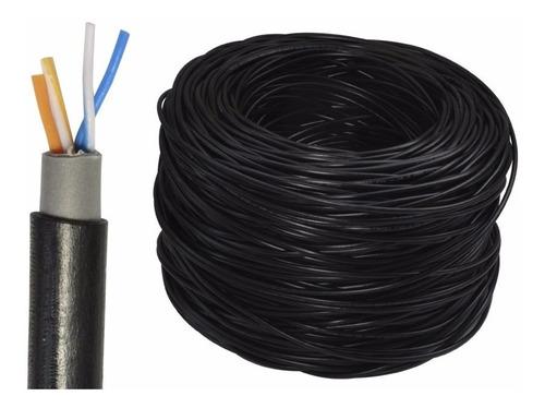 cable telefónico exterior envío gratis 305m 2 pares trenzado