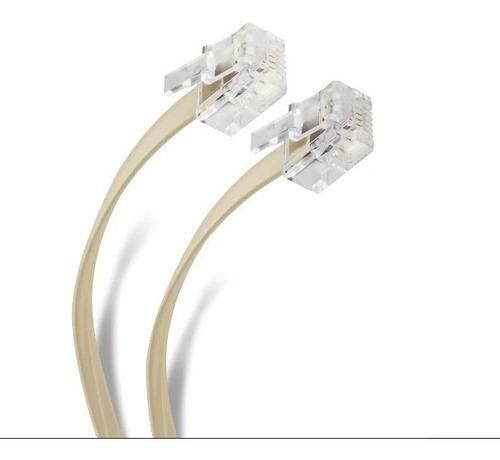 cable telefónico para auricular 7.50 mts ta-318iv