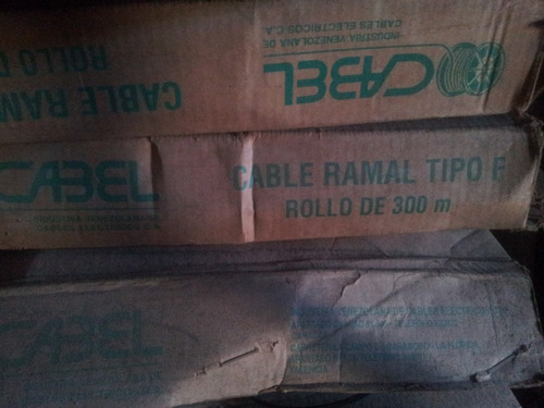 cable telefonico ramal tipo f intemperie 1100 bs x mt 1par.