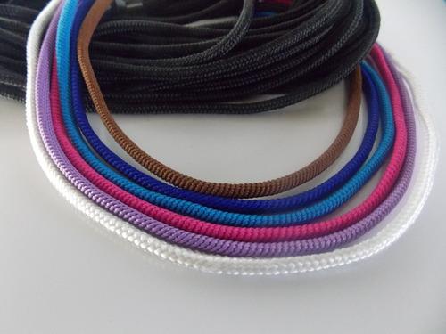 cable textil eléctrico vintage retro set x 2 metros.