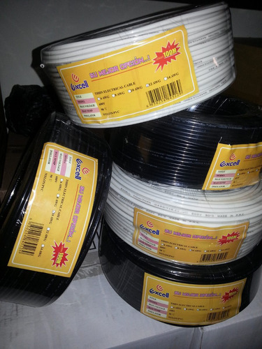 cable thhn 10awg  70% cobre marca excell