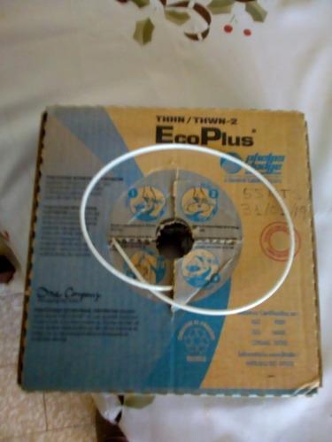 cable thhn (90 grados) 12 awg de cobre en rollo de 100 metro
