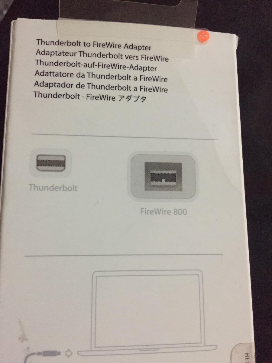 Enchanting Thunderbolt To Firewire Adapter Elaboration - Simple ...