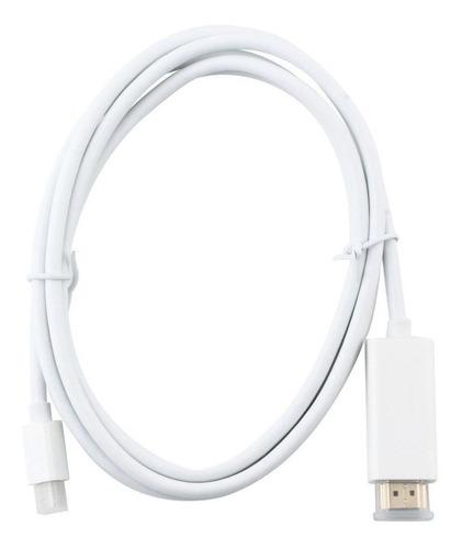 cable thunderbolt mini displayport a hdmi macbook 1.8 metros