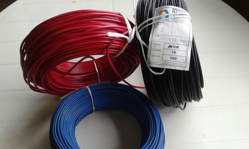 cable  thw  n 10awg 1 hilo  75°c  600v  elecon