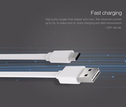 cable tipo c a usb premium 1 metro male mac apple huawei lg