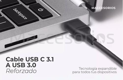 cable tipo c usb 3.1 carga rapida ultraresistente