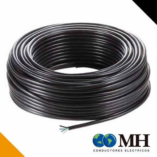 cable tpr 2x1,5mm marca mh x 100mts tipo taller