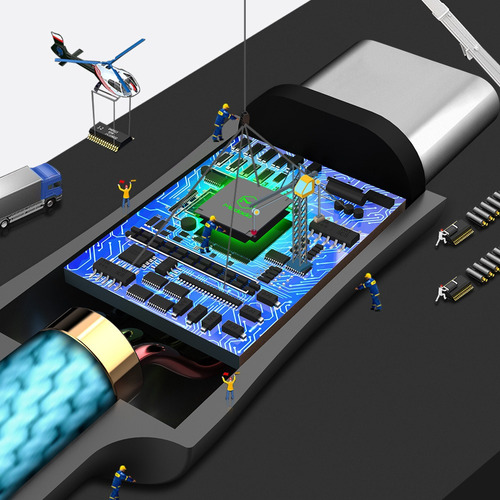 cable type c a lightning 2 amp - mcdodo original - carga rápida 1,80 metros. color azul