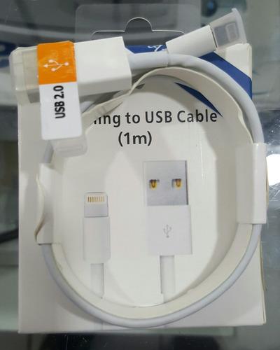 cable ubs original para iphone 5 5s 5c 6 6plus