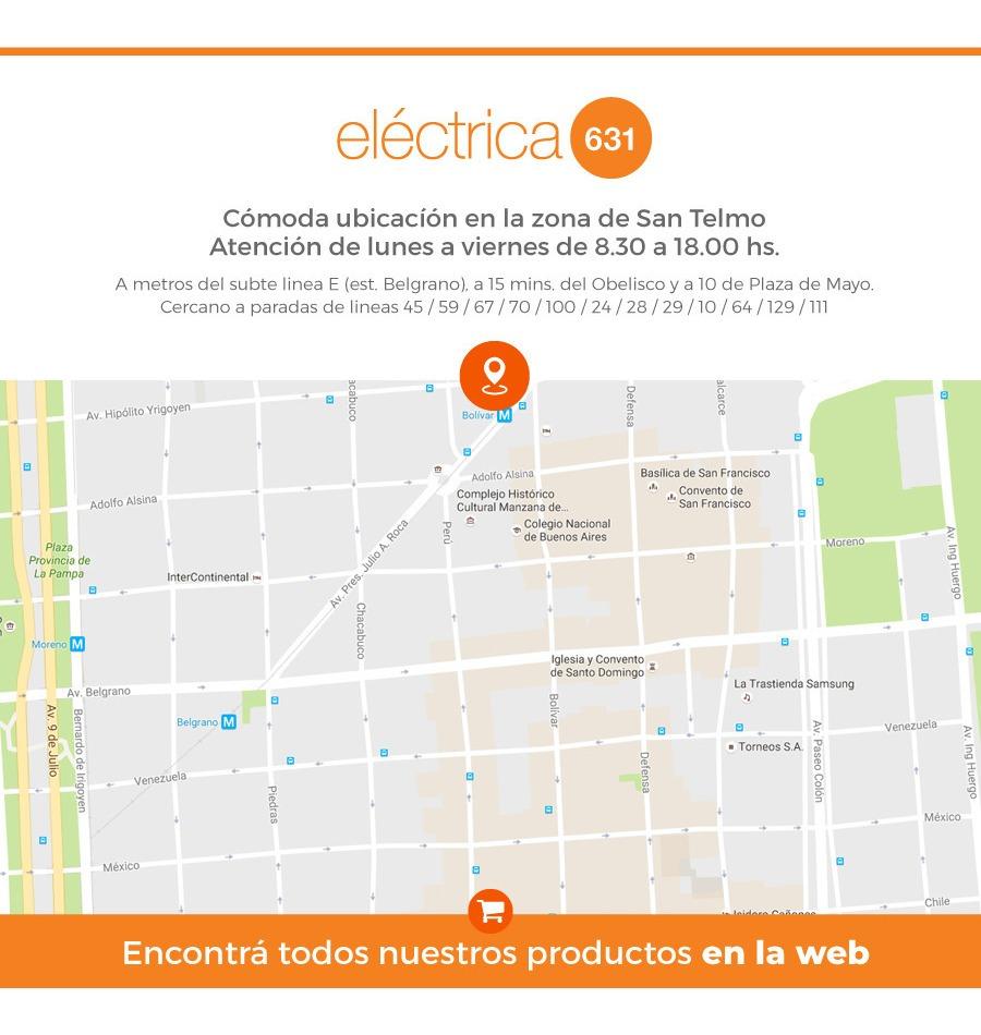 Cable Unipolar 2,5 Mm Celeste X 100mts Fonseca Por E631 on