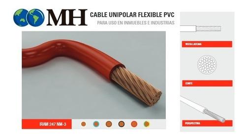 cable unipolar  4 mm2  homologado x metro  microcentro