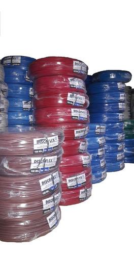 cable unipolar 6mm rollo 100 mts electricidad