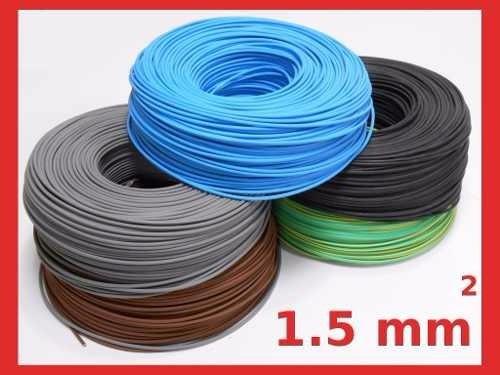 cable unipolar normalizado 1.5 mm x 100 mts