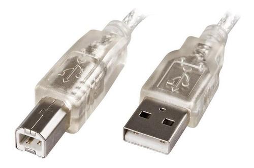 cable usb 2.0 2m impresora  - noganet  netmak 1.8m