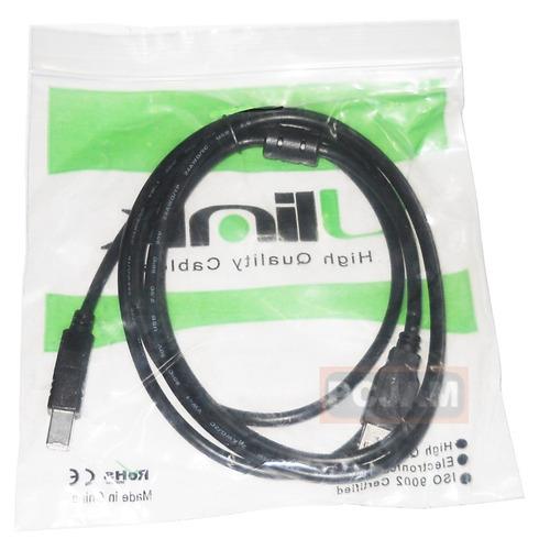 cable usb 2.0 a a b, impresora, router, etc. 1,8 mts. ulink