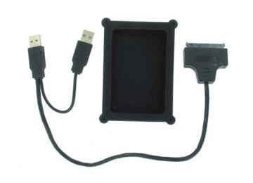 cable usb 2.0 a sata 2.5 7+15 net/notebook con funda