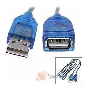 cable usb 2.0 alargue 10mts prolongador extension 2 filtros titan belgrano