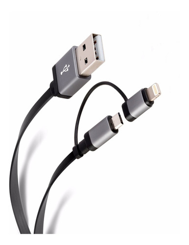 cable usb 2en1 android s6  j5  j7 y ios
