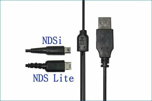 cable usb 3en 1 para todos los ds lite dsi ds xl ds 3d