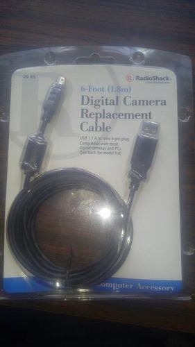 cable usb a camara digital de 4 pines