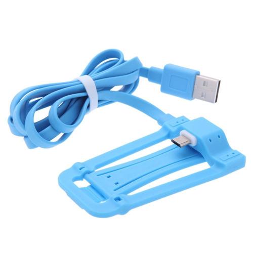 cable usb a lightning con base para samsung