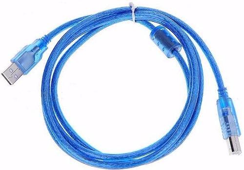 cable usb a y b 3 metros impresora hp,epson,samsung lexmark