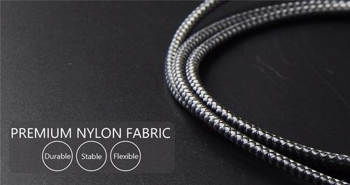 cable usb-c 1 metro nylon excelente calidad tipo c