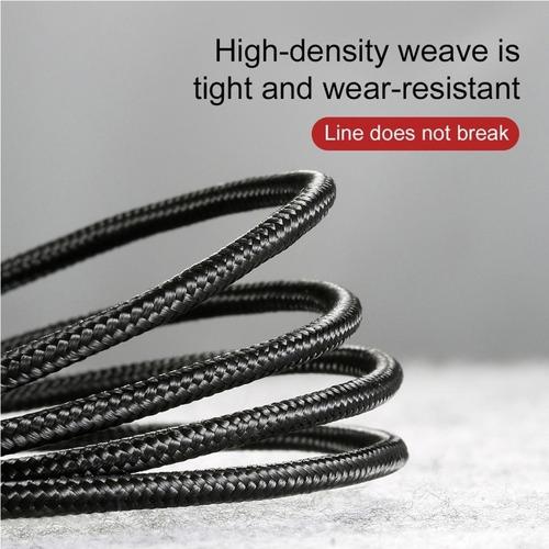 cable usb c baseus kevlar carga ultra rapida muy resistente
