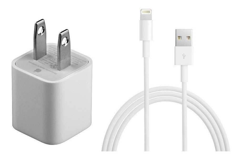 2e9ffa66344 Cable Usb + Cargador De Pared Original Apple iPhone C/envio ...