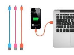 cable usb cargador iphone 4/5/6 belkin  nuevo
