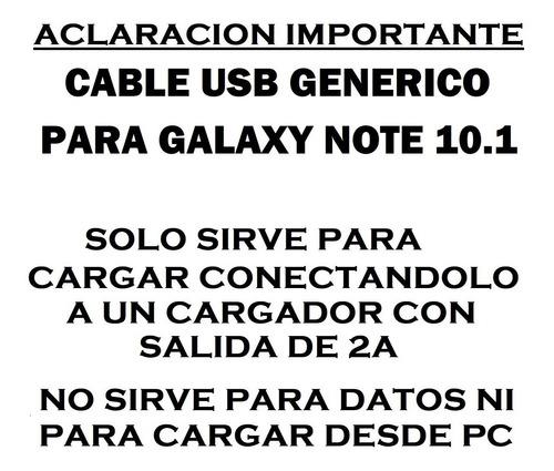 cable usb compatible con galaxy note 10.1 n8000 n8010 samsun
