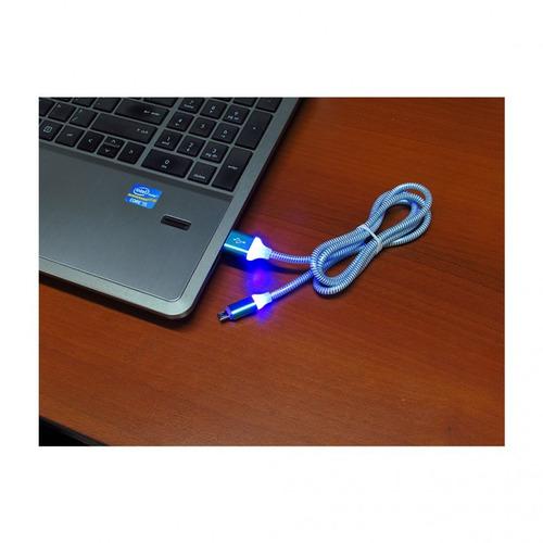 cable usb compatible smartphone  android alumbran luminosos
