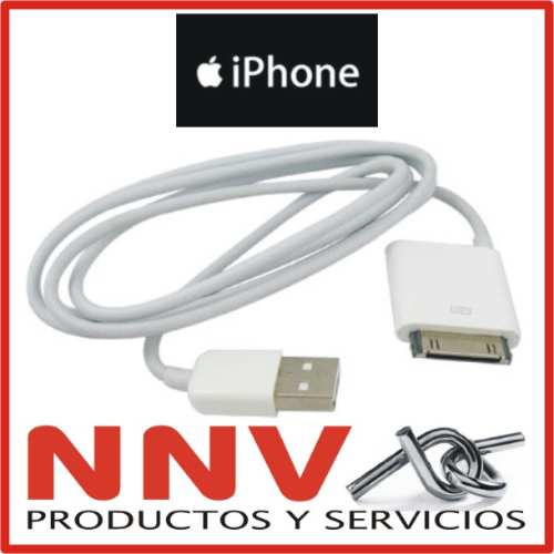 cable usb datos iphone 4 ipod classic ipod nano 1 2 3 4 y 5