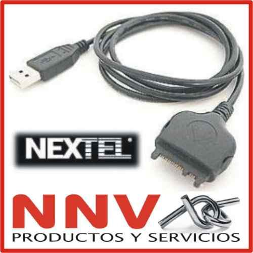 cable usb datos motorola nextel i860 i870 i880 i930 i730 nnv