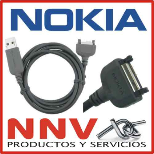 cable usb datos nokia 7370 7373 7600 7610 7710 9300 9500