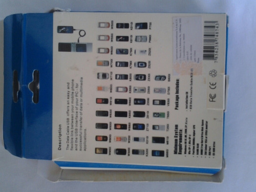 cable usb dcu-60