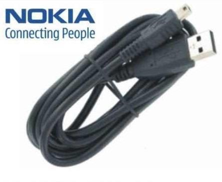 cable usb de datos para nokia 2720 + cd - nnv