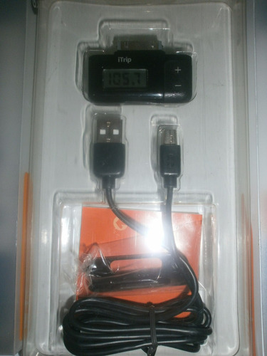 cable usb griffin itrip, emisor fm para ipod/iphone