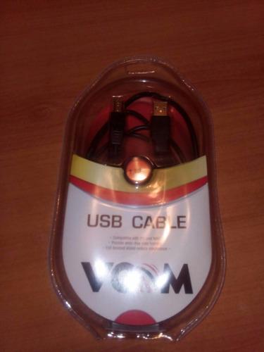 cable usb impresora de 1.8 mt vcom sellados tienda física