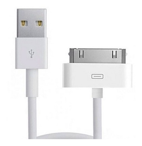 cable usb iphone 3 / 4 cargador ipod ipad - factura a / b