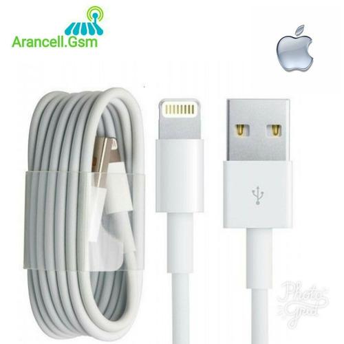 cable usb iphone 5 5s 6 7 ipod ipad certificado somos tienda