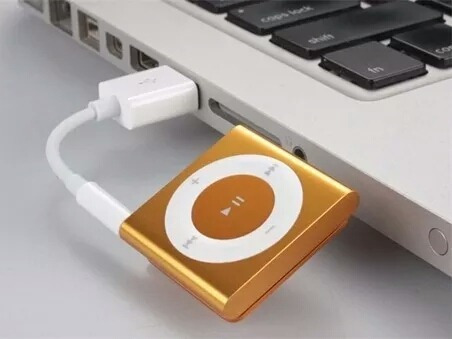 cable usb ipod shuffle 2g 3g 4g carga datos mp3 mp4 supli