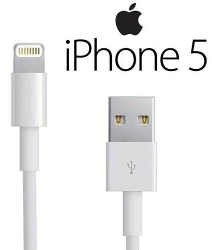 320bdff850e Cable Usb Lightning + Cargador iPhone 5 iPod iPad Mini Nano - S/ 25 ...