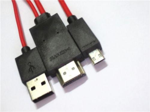 cable usb mhl hdmi hd tv huawei p6 u9200 ascend p7 mate zte