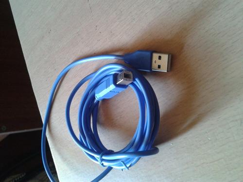 cable usb modem e impresora