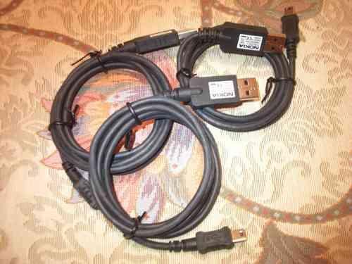 cable usb nokia original  ca-53 n80 n70 e50 e60 e61 e70 n73