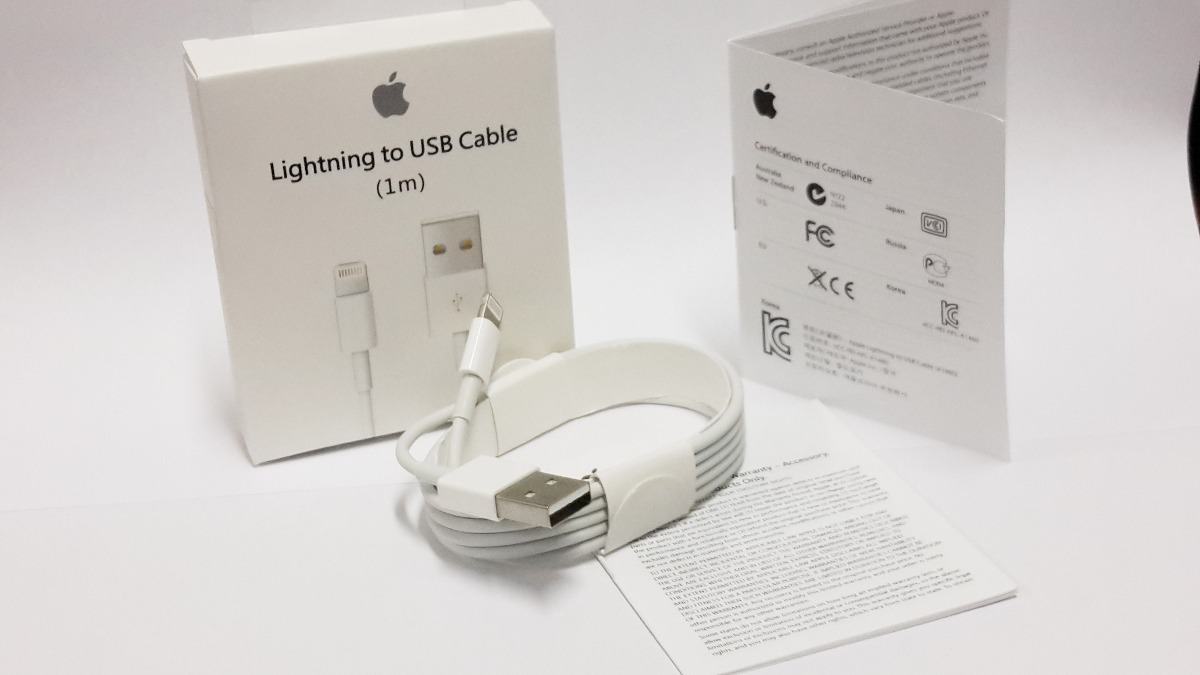 Cable Usb Para Iphone 5s Original: Cable Usb Para Iphone 5 Original / Carga Y Datos Apple New - U$S rh:articulo.mercadolibre.com.ec,Design
