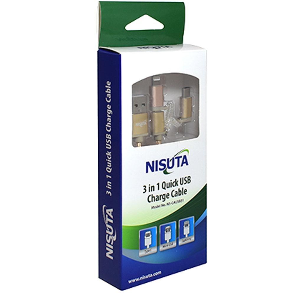 0110c510367 Cable Usb Para iPhone Micro Usb Tipo C - 3 En 1 - $ 492,18 en ...