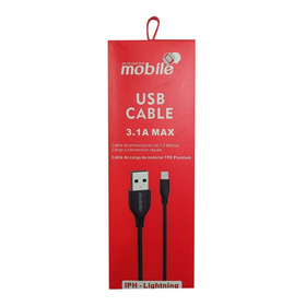 Cable Usb Para iPhone Turbo 3.1 Carga Rapida